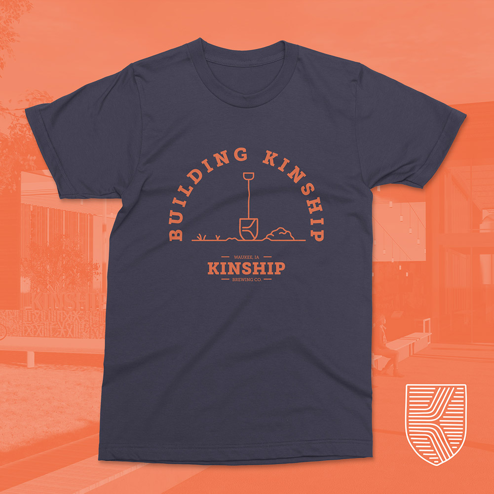 #buildingkinship Shovel Shield Shirt, Earth Moving