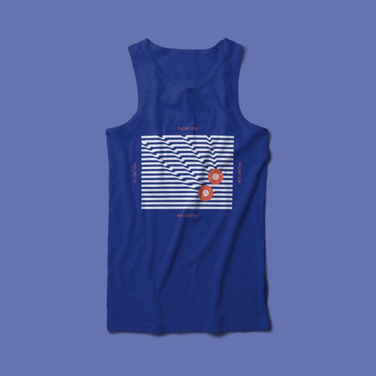 Float On - Men's Tank - Royal Blue