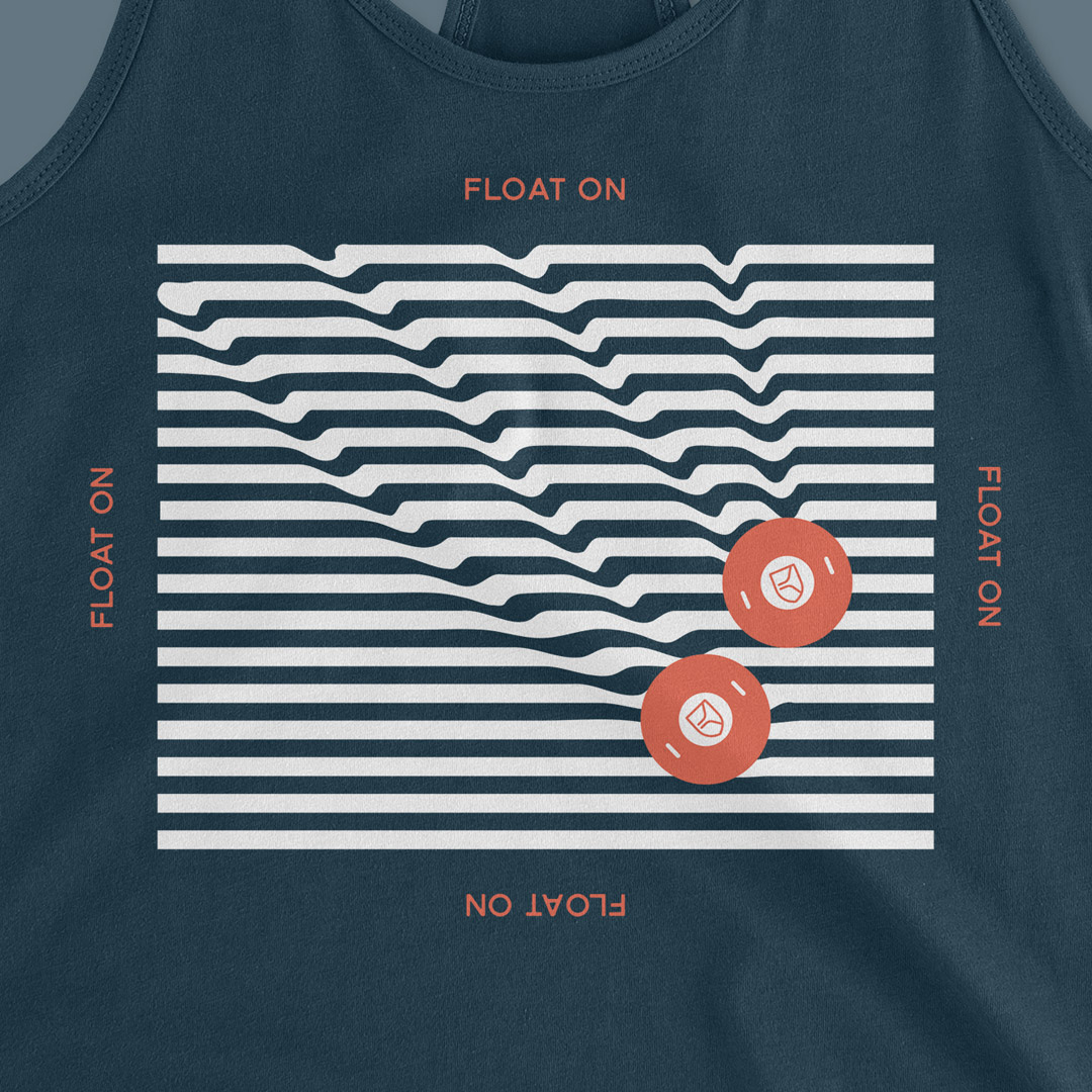 Float On - Women's Tank - Close Up